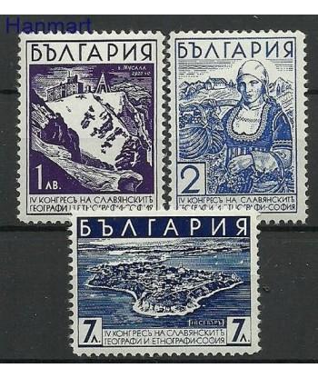 Bułgaria 1936 Mi 304-306 Czyste **