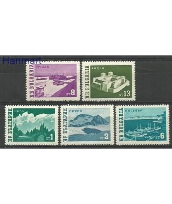 Bułgaria 1962 Mi 1314-1318 Czyste **
