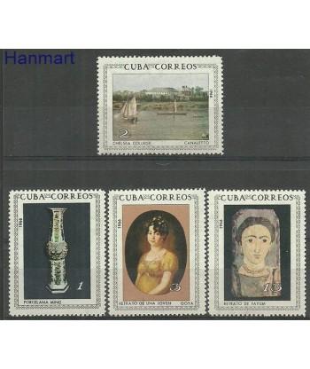 Kuba 1966 Mi 1149-1152 Czyste **