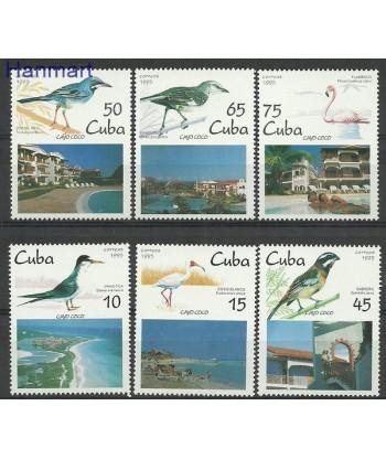 Kuba 1995 Mi 3881-3886 Czyste **