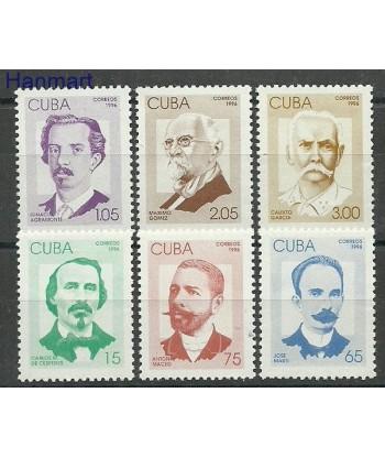 Kuba 1996 Mi 3887-3892 Czyste **