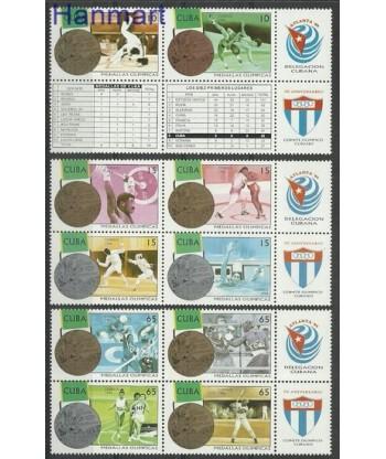 Kuba 1996 Mi 3966-3975 Czyste **