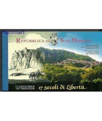 San Marino 2000 Mi mh 6 Czyste **