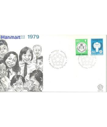 Indonezja 1979 Mi 940-941 FDC