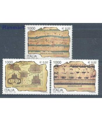 Włochy 1999 Mi 2660-2662 Czyste **