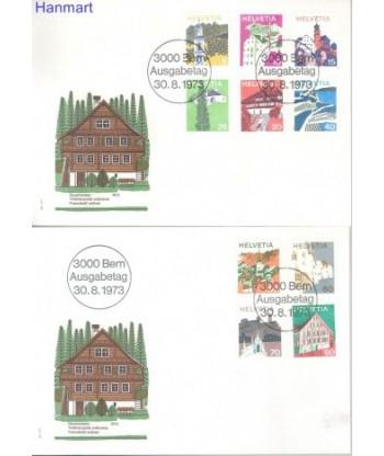Szwajcaria 1973 Mi  FDC