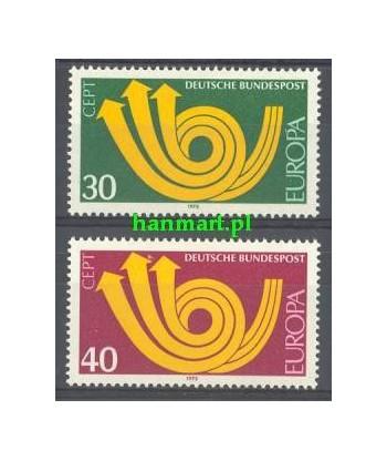 Niemcy 1973 Mi 768-769 Czyste **