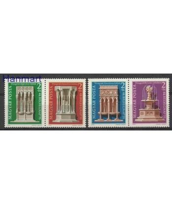 Węgry 1975 Mi 3060-3063 Czyste **