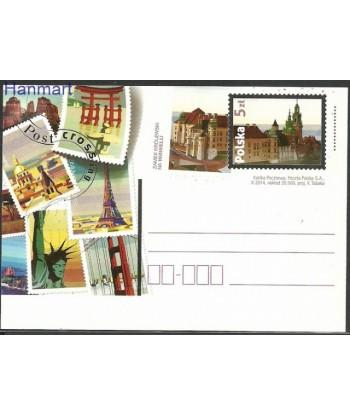 Polska 2014 Mi 1692 Karty pocztowe czyste