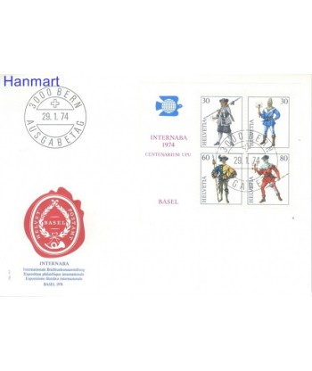 Szwajcaria 1974 Mi  FDC