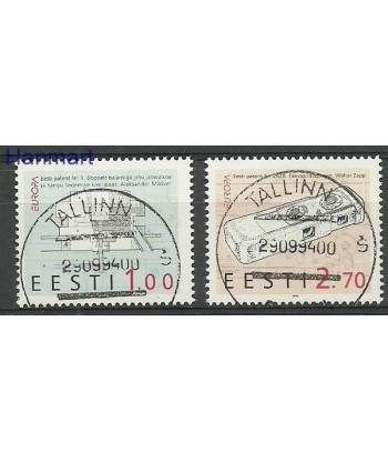 Estonia 1994 Mi 233-234 Stemplowane