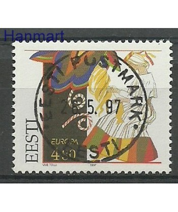 Estonia 1997 Mi 301 Stemplowane