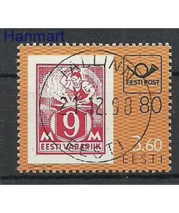 Estonia 1998 Mi 334 Stemplowane