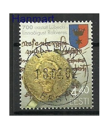 Estonia 2002 Mi 439 Stemplowane