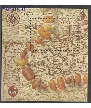 Polska 1993 Mi spebl 121 Czyste **