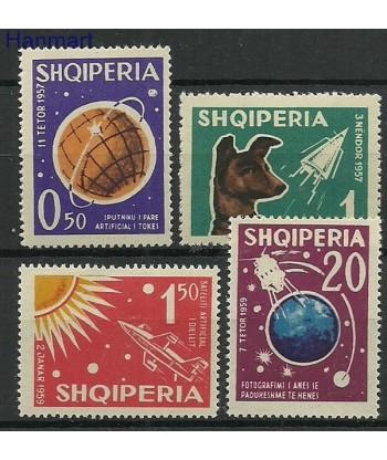 Albania 1962 Mi 663-666 Czyste **