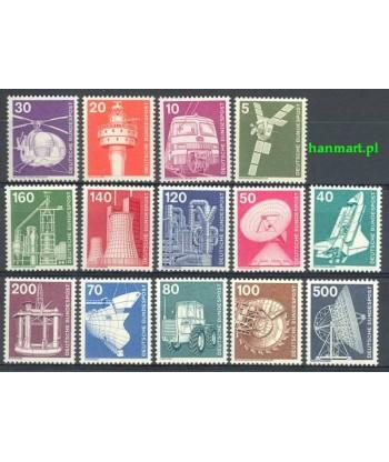 Niemcy 1975 Mi 846-859 Czyste **