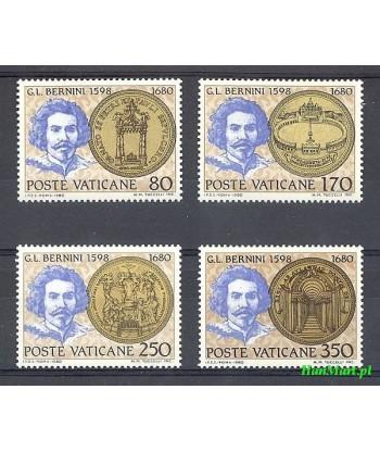 Watykan 1980 Mi 771-774 Czyste **