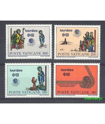 Watykan 1981 Mi 785-788 Czyste **
