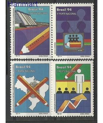 Brazylia 1994 Mi 2593-2596 Czyste **