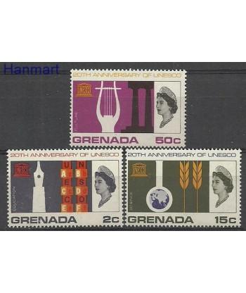 Grenada 1966 Mi 221-223 Czyste **