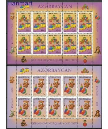 Azerbejdżan 2015 Mi 1093-1094 Czyste **