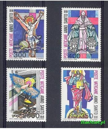 Watykan 1983 Mi 816-819 Czyste **