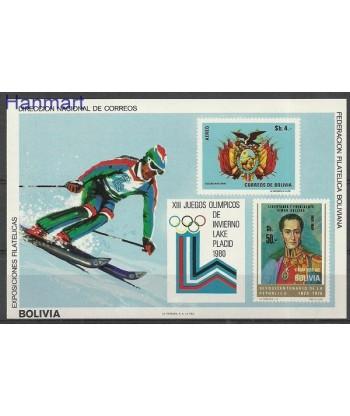 Boliwia 1980 Mi bl 91 Czyste **