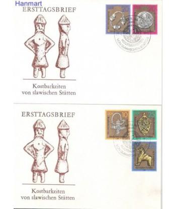 Niemiecka Republika Demokratyczna / DDR 1978 Mi 2303-2307 FDC