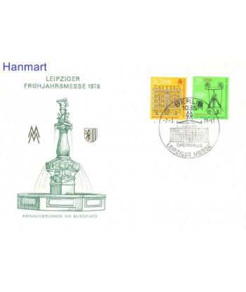 Niemiecka Republika Demokratyczna / DDR 1978 Mi 2308-2309 FDC