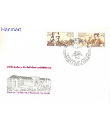 Niemiecka Republika Demokratyczna / DDR 1978 Mi 2314-2315 FDC