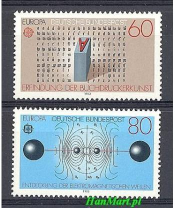 Niemcy 1983 Mi 1175-1176 Czyste **