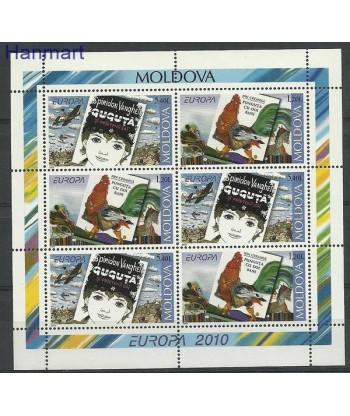 Mołdawia 2010 Mi blatt 12 Czyste **