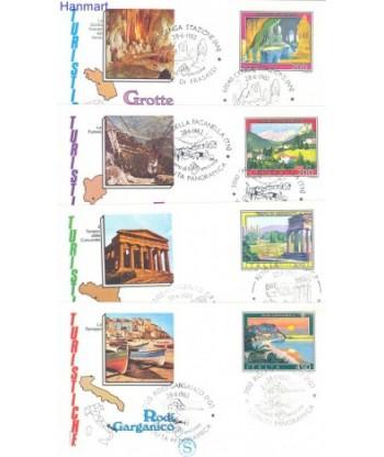 Włochy 1982 Mi 1804-1807 FDC