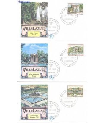 Włochy 1982 Mi 1812-1814 FDC