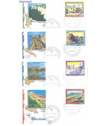 Włochy 1983 Mi 1851-1854 FDC