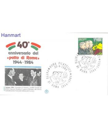 Włochy 1984 Mi 1885 FDC