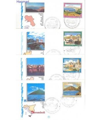 Włochy 1985 Mi 1922-1925 FDC