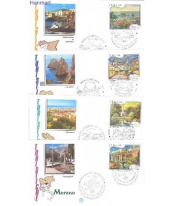 Włochy 1986 Mi 1964-1967 FDC