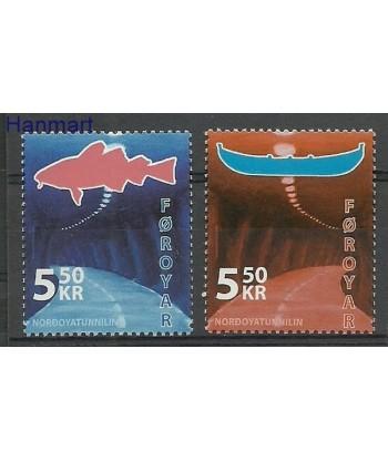 Wyspy Owcze 2006 Mi 572-573 Czyste **