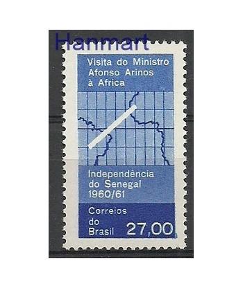 Brazylia 1961 Mi 1002 Czyste **