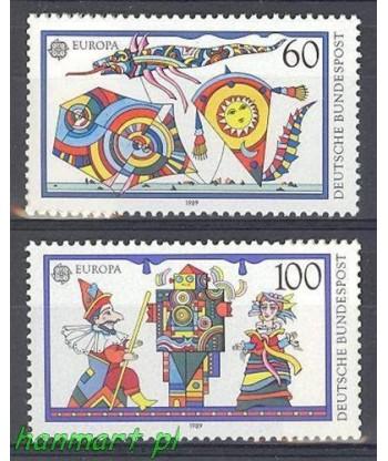 Niemcy 1989 Mi 1417-1418 Czyste **