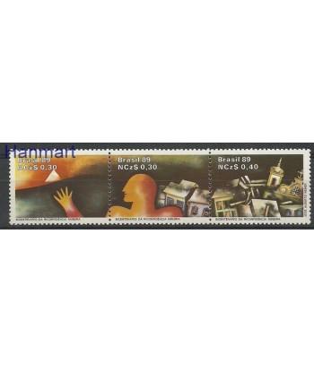 Brazylia 1989 Mi 2295-2297 Czyste **