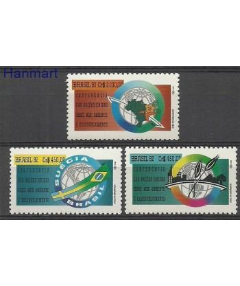 Brazylia 1992 Mi 2476-2478 Czyste **