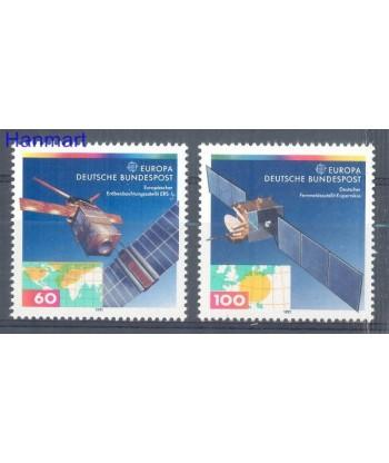 Niemcy 1991 Mi 1526-1527 Czyste **