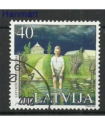 Łotwa 2002 Mi  Stemplowane