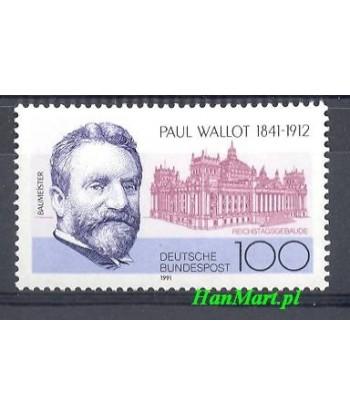 Niemcy 1991 Mi 1536 Czyste **