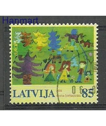 Łotwa 2006 Mi 674 Stemplowane