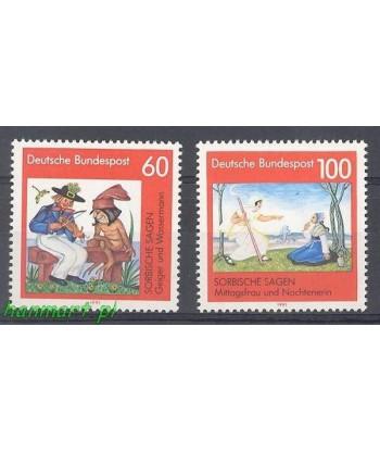 Niemcy 1991 Mi 1576-1577 Czyste **