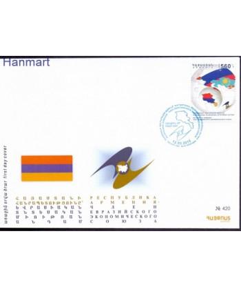 Armenia 2015 Mi 937 FDC